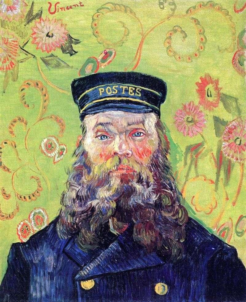 Portret listonosza Josepha Roulaina III   Vincenta Van Gogha