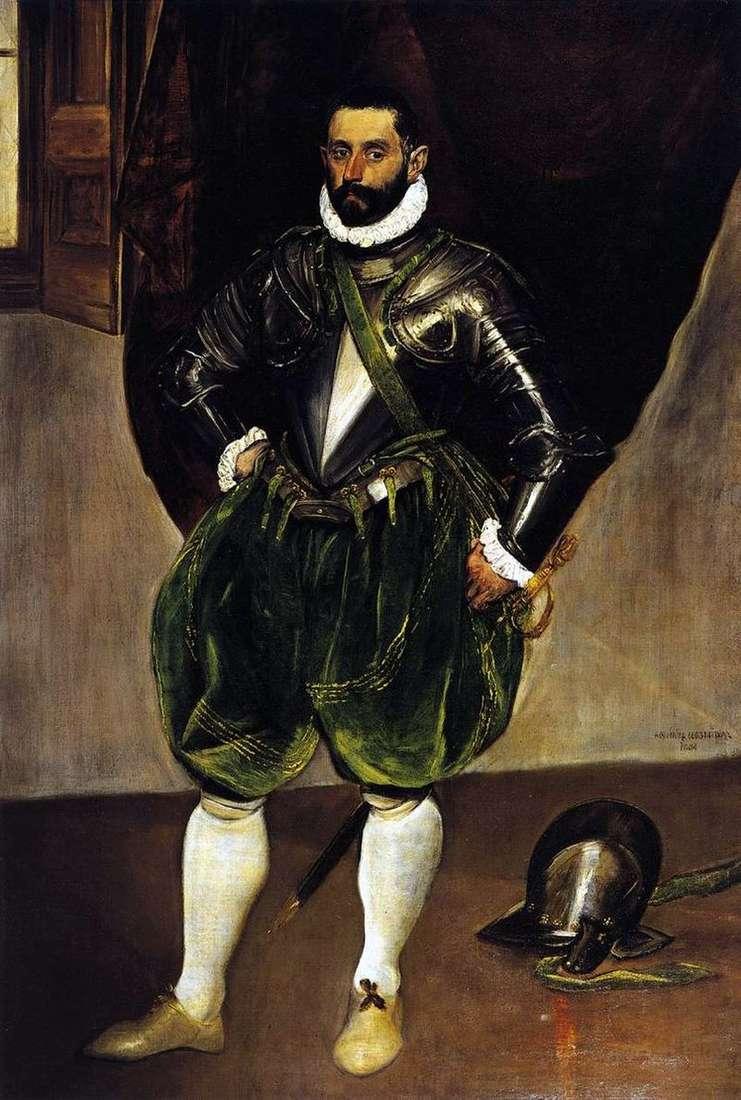 Portret Vincenzo Anastasi   El Greco