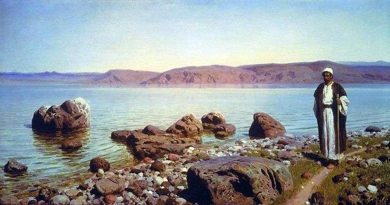 Na jeziorze Tyberiadzkim (Genisaret)   Wasilij Polenow