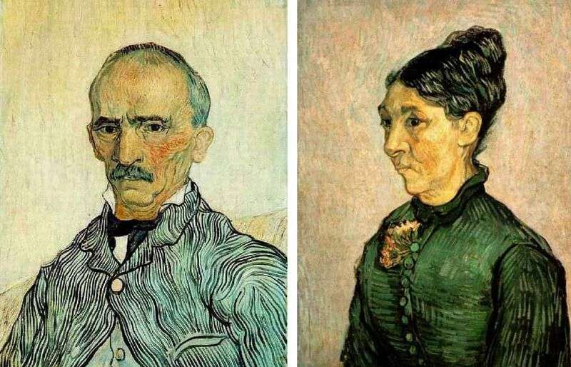 Portrety pary Trabuc   Vincen Van Gogh