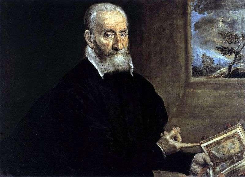 Portret Julio Clovio   El Greco