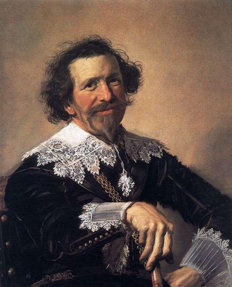 Portret Petera van den Brocka   Fransa Halsa