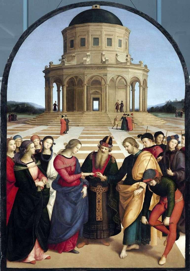 Zaręczyny Najświętszej Maryi Panny   Rafael Santi