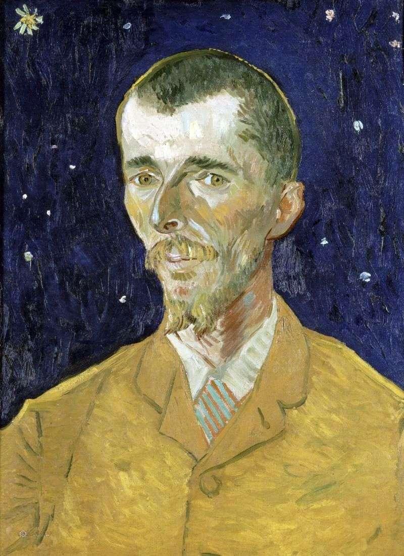 Poeta, portret Eugenea Boscha   Vincenta Van Gogha