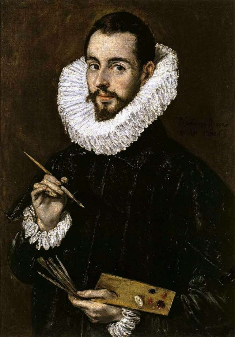 Portret malarza   El Greco