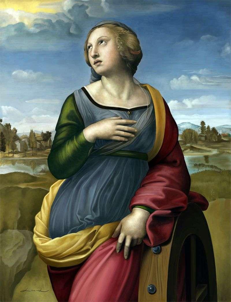 Święta Katarzyna z Aleksandrii   Rafael Santi