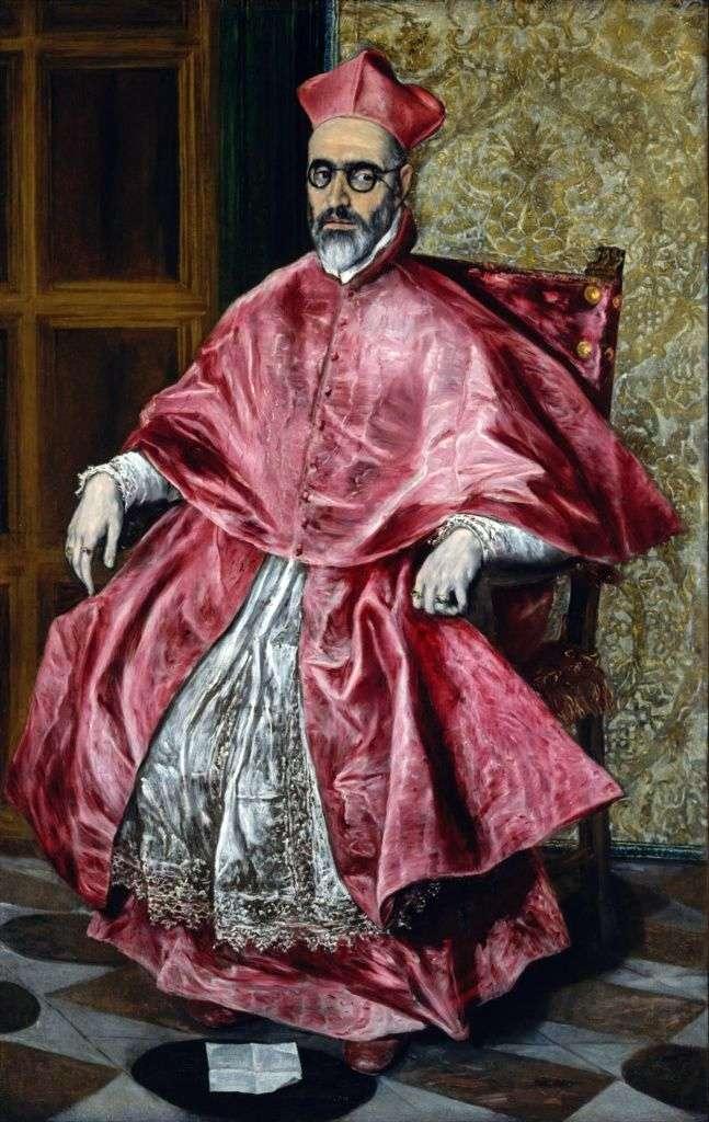Portret kardynała   El Greco