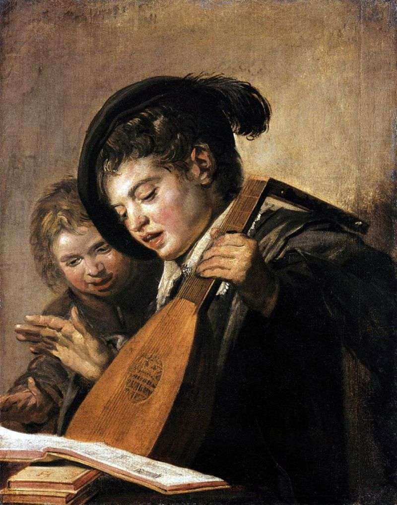 Śpiewający chłopcy   Frans Hals