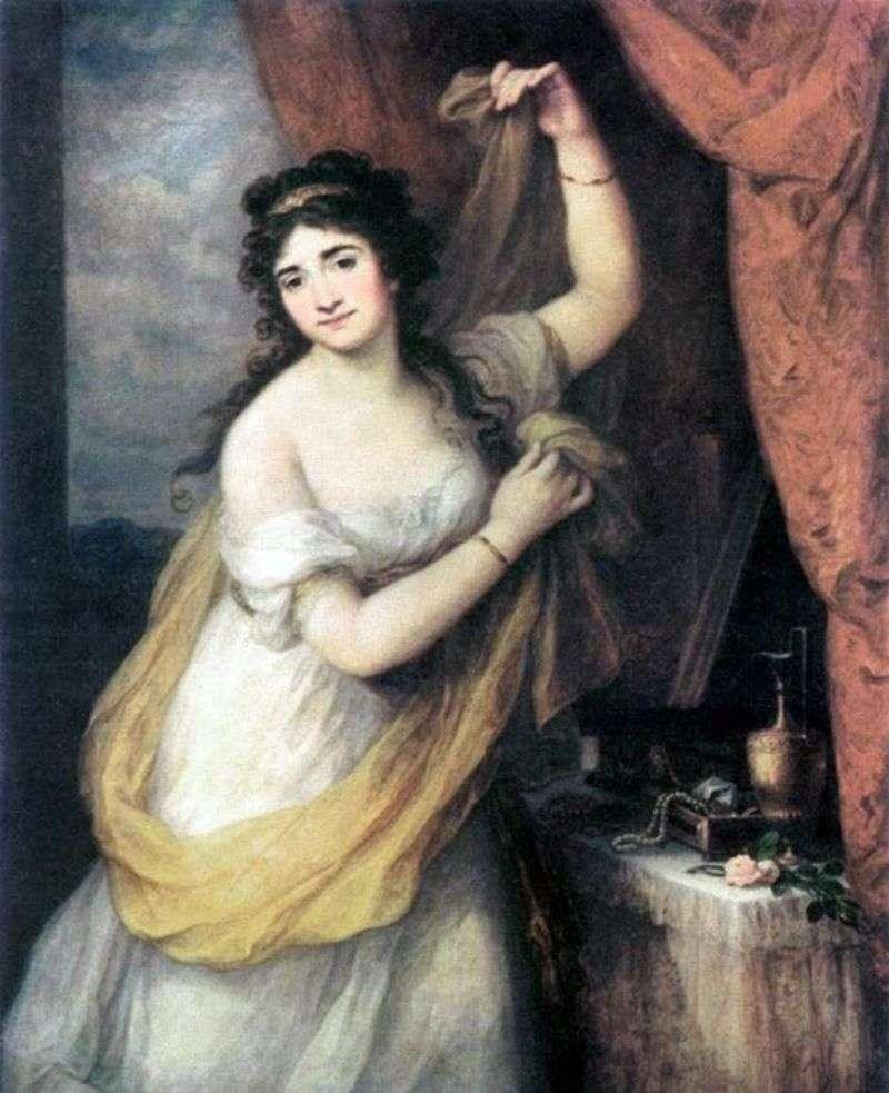 Portret księżniczki Esterhazy   Angelika Kaufman