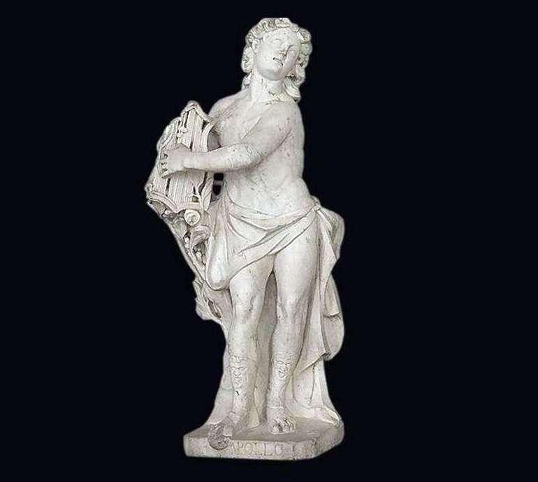 Apollo z lirą   Wasilij Maximow