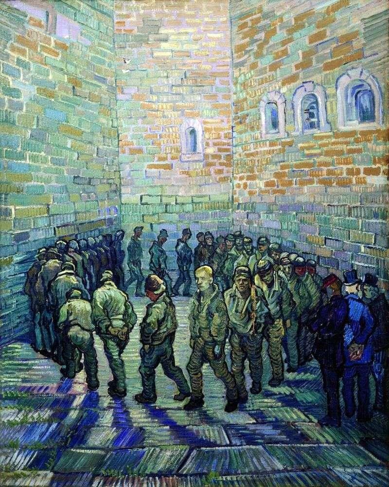 Spacer więźniów   Vincent Van Gogh