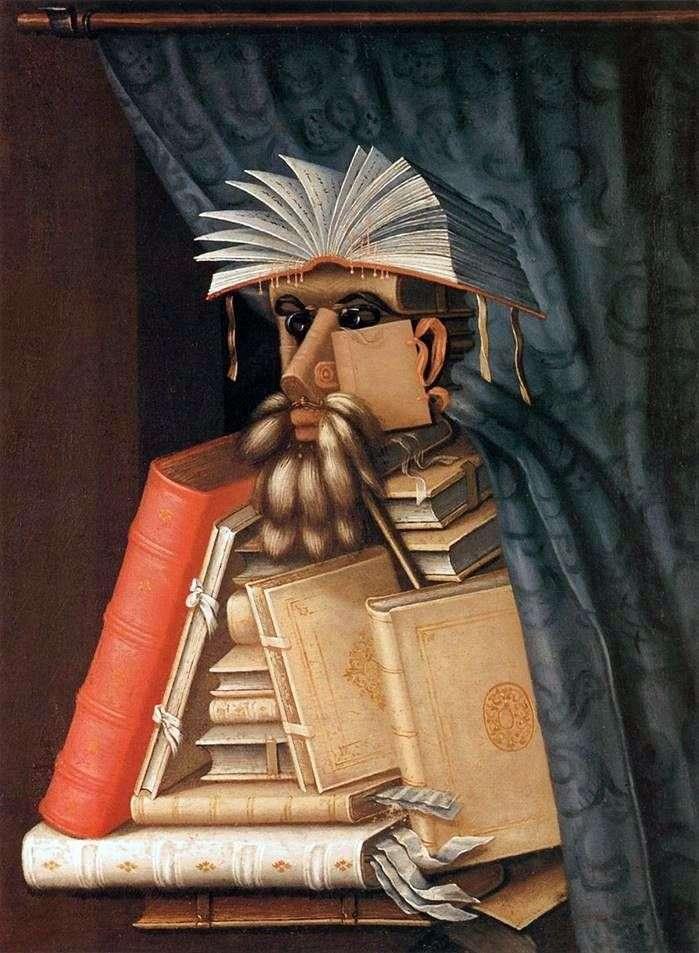 Bibliotekarz   Giuseppe Archimboldo
