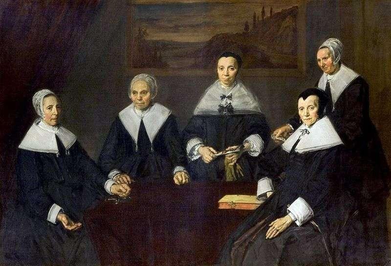 Regentsa Harlem Almshouse (Schronisko Regentshi dla osób w podeszłym wieku)   Frans Hals