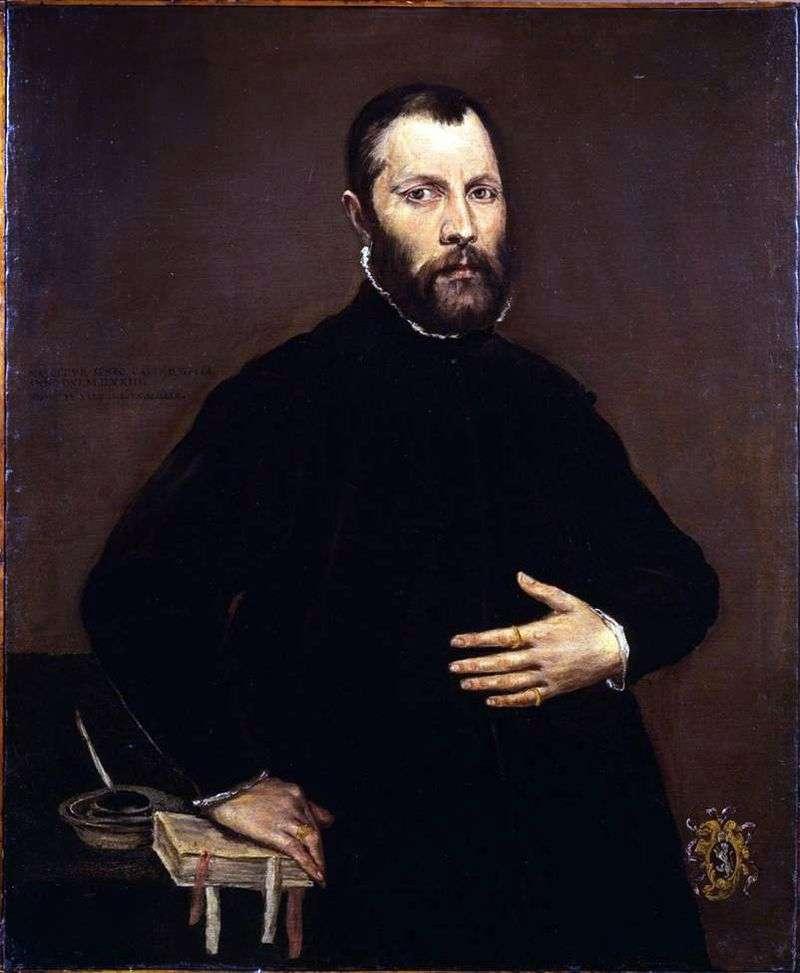 Portret mężczyzny   El Greco