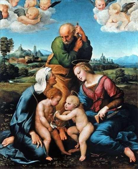 Święta Rodzina Kanizhani   Rafael Santi