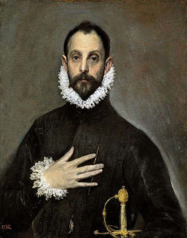 Portret starszego szlachcica   El Greco