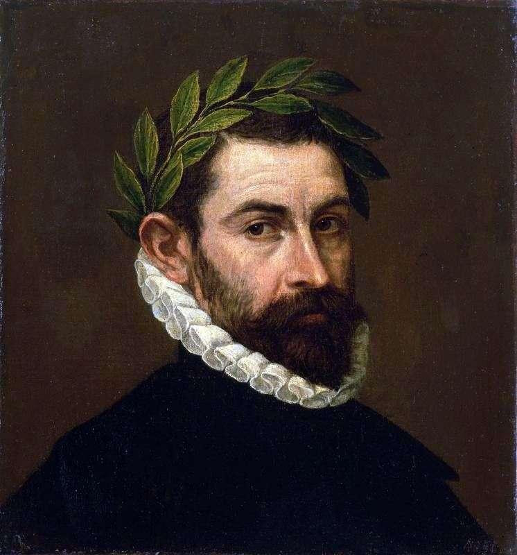 Portret poety Alonso Ersilla i Zunigi   El Greco