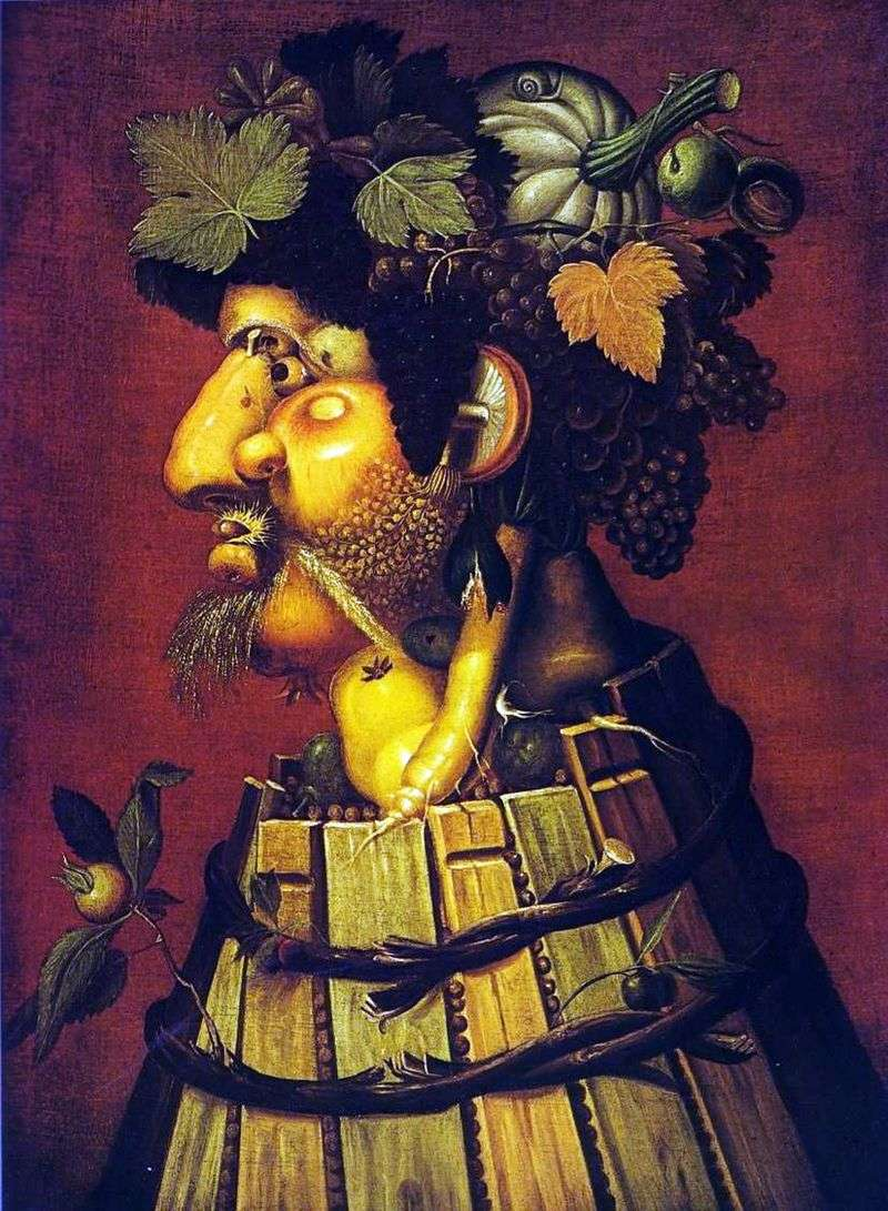 Jesień   Giuseppe Archimboldo