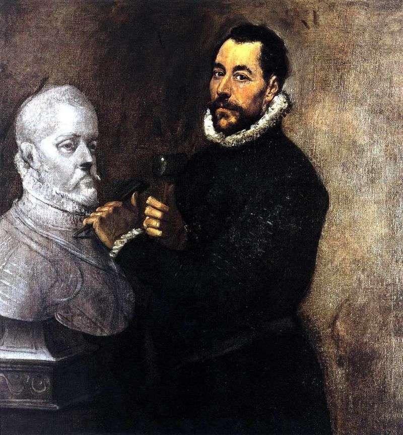 Portret rzeźbiarza   El Greco