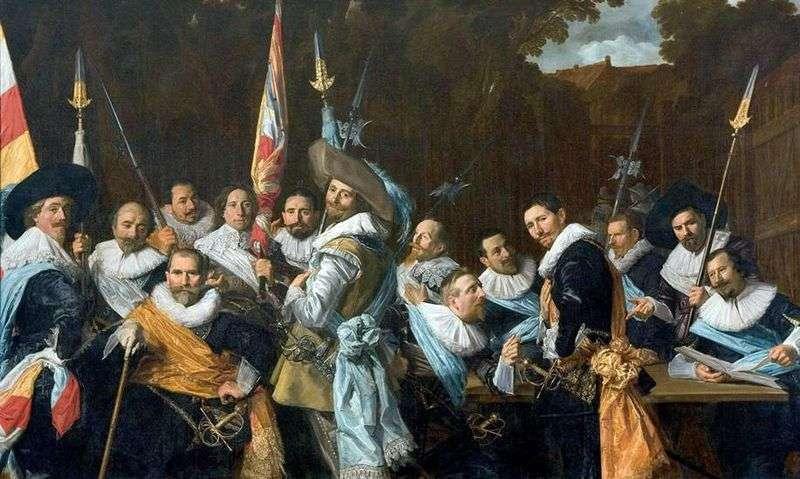 Strzała gildii sv. Adriana   Frans Hals