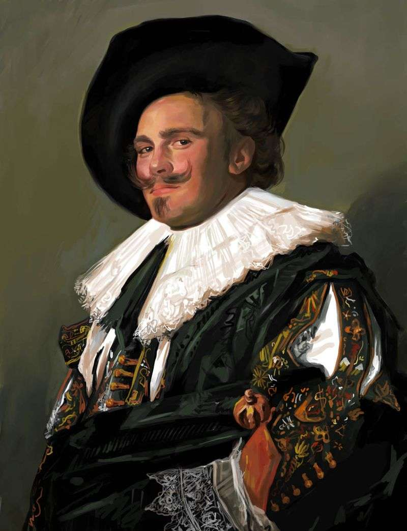 Uśmiechnięty kawaler   Frans Hals