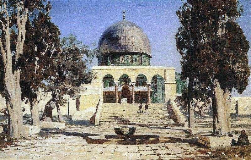 Haram Ash Sheriff   plac, na którym znajdowała się starożytna świątynia jerozolimska   Wasilij Polenow
