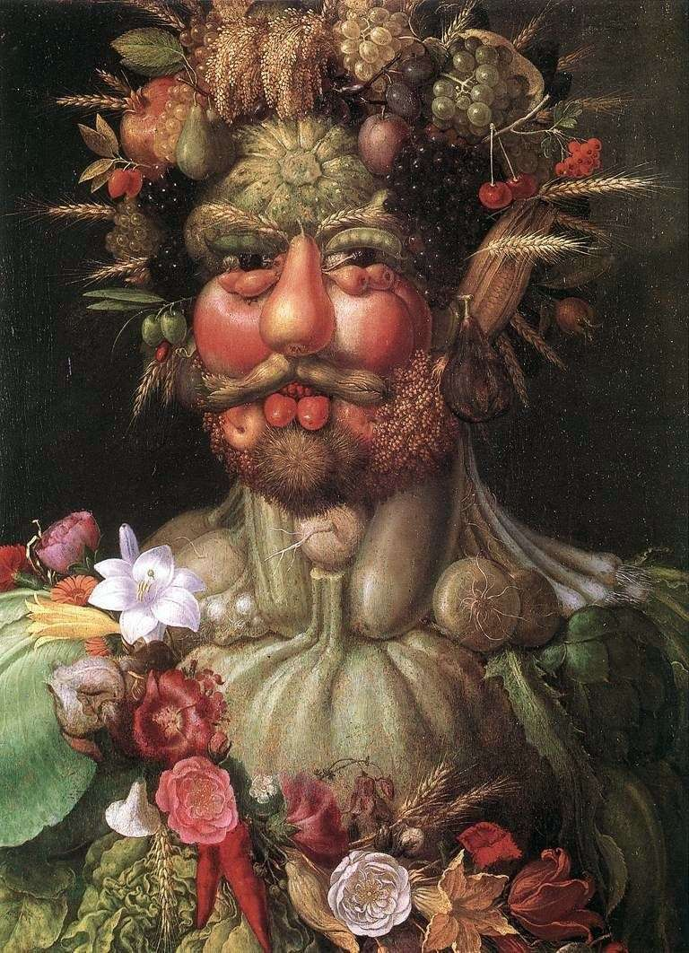 Portret cesarza Rudolfa II   Giuseppe Archimboldi