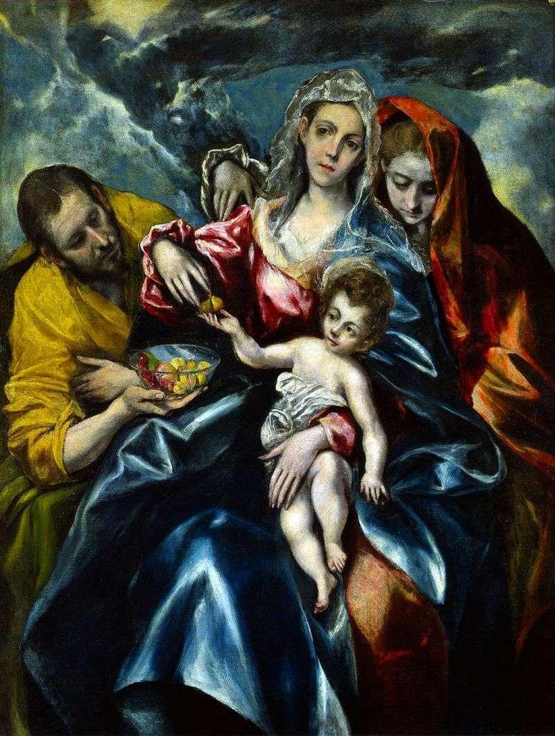 Święta rodzina z Marią Magdaleną   El Greco
