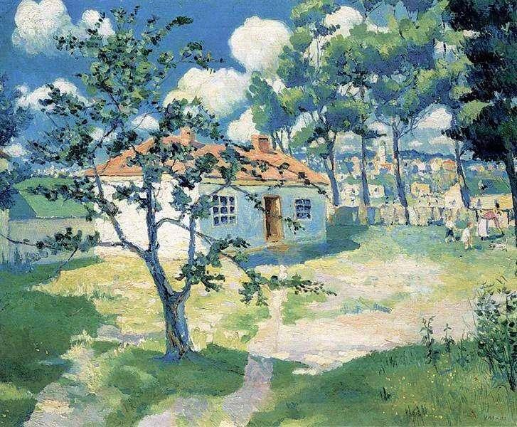 Wiosna   Kazimierz Malewicz