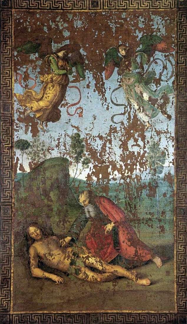 Stworzenie Ewy od Adama   Rafael Santi