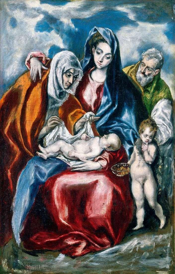 Świętej Rodziny z St. Anne   El Greco