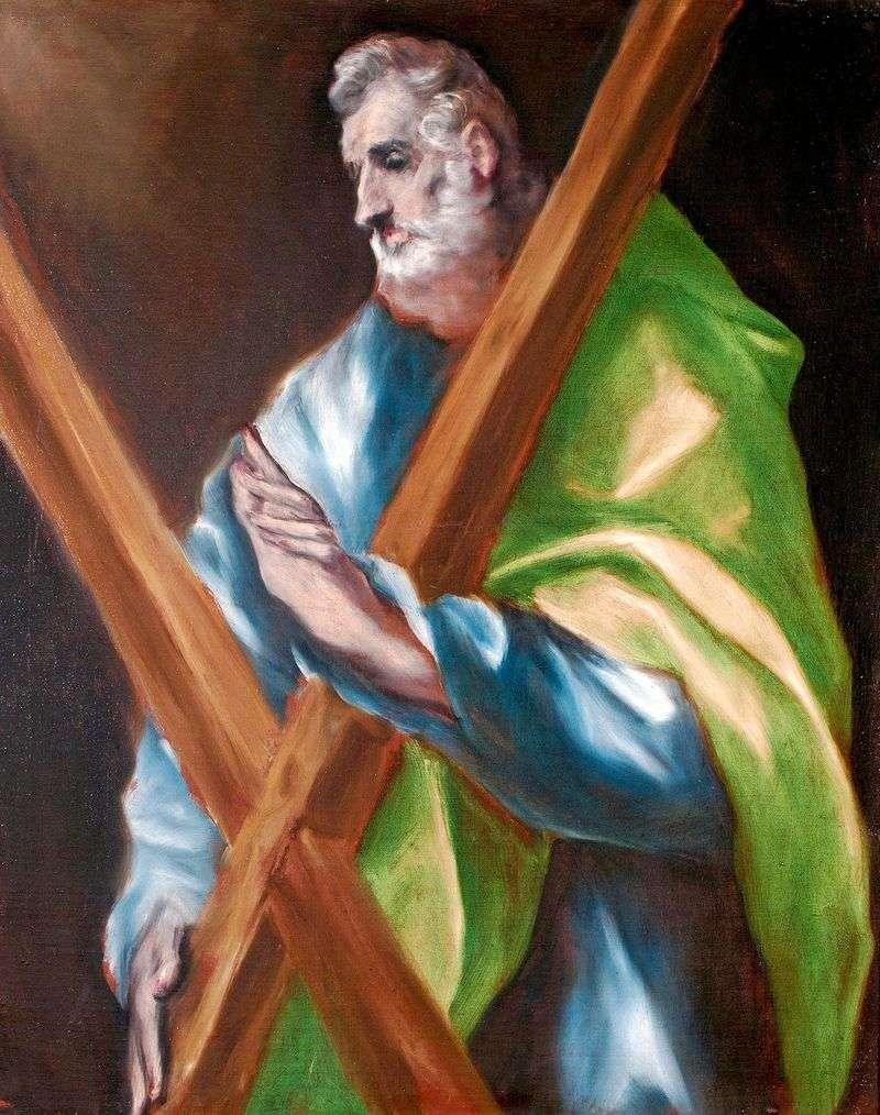 Święty Apostoł Andrzej   El Greco