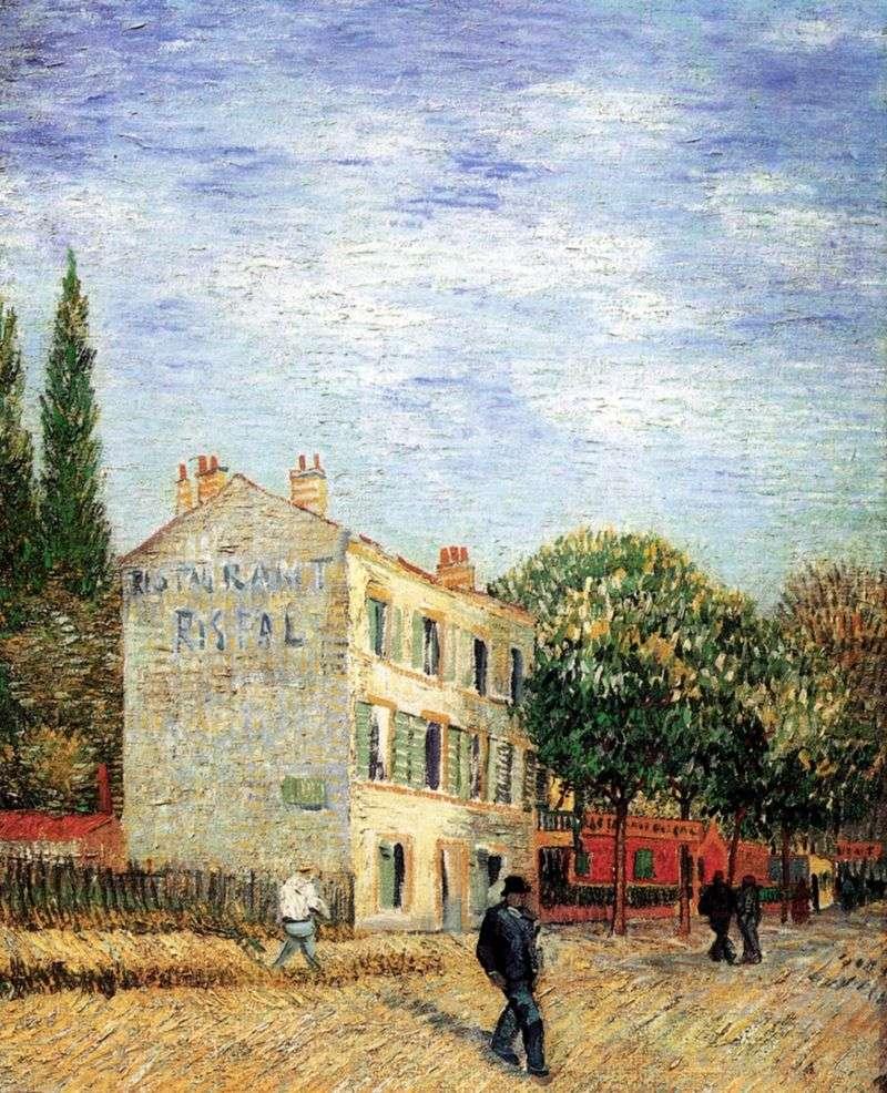 Restauracja Rispal w Anyer   Vincent Van Gogh
