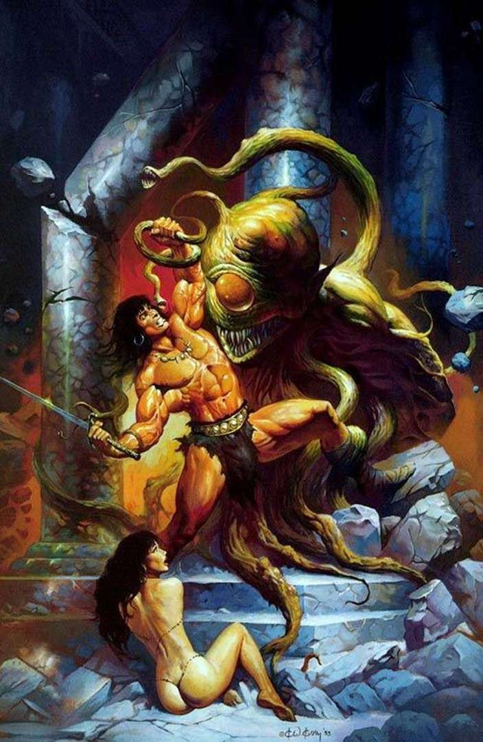 Conan i potwór   Ken Kelly
