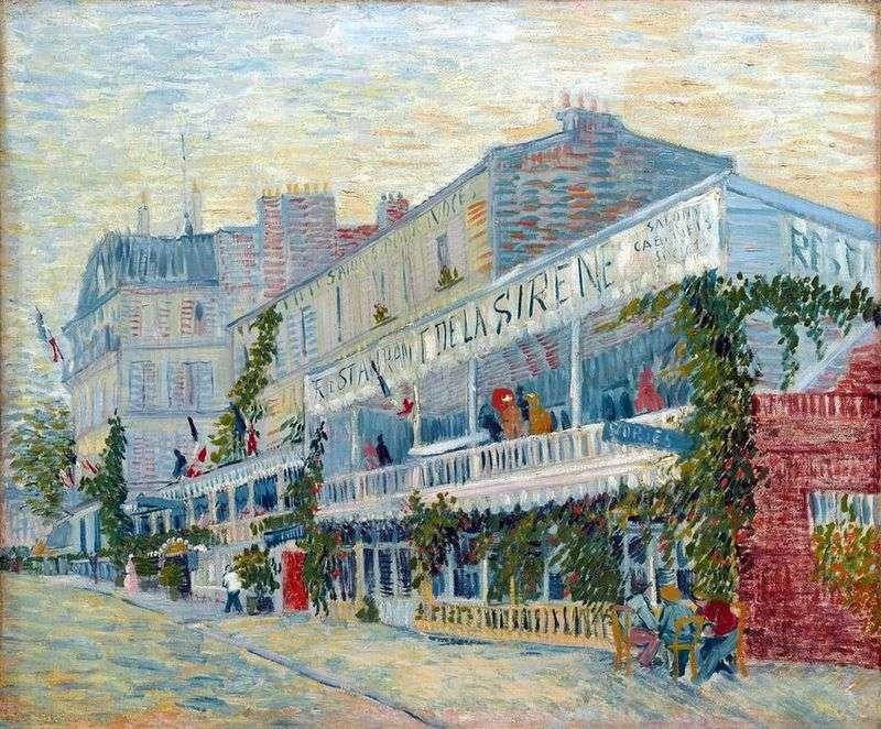Restauracja Sirena na Anier   Vincent Van Gogh
