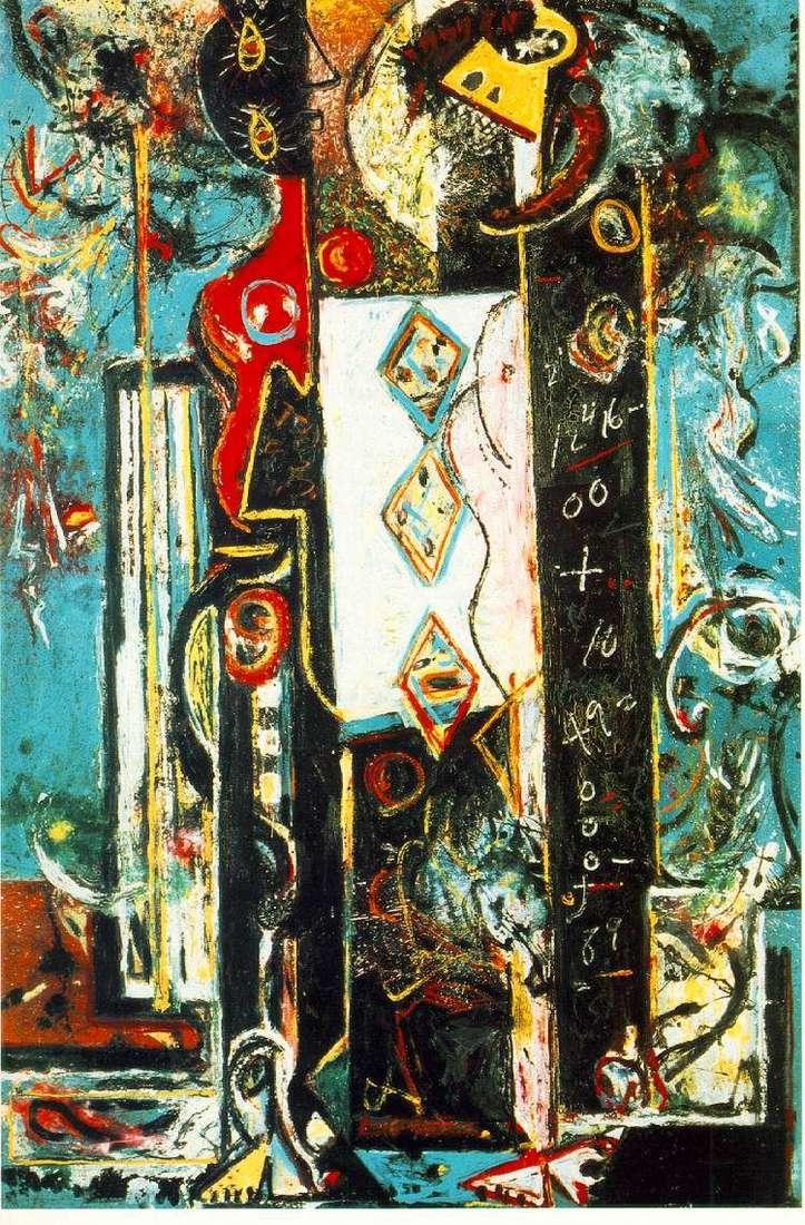 Mężczyzna i kobieta   Jackson Pollock