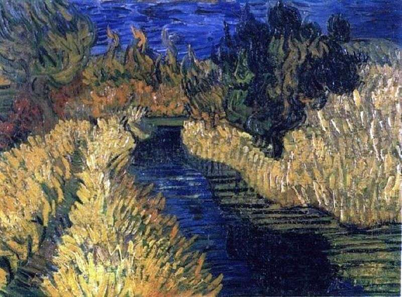 Brook   Vincent Van Gogh