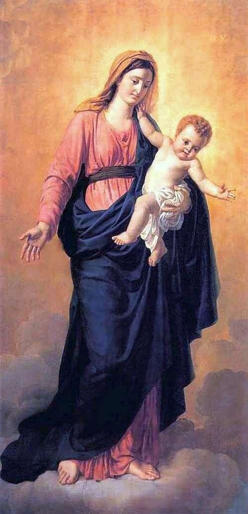 Dziewica i dziecko   Orest Kiprensky