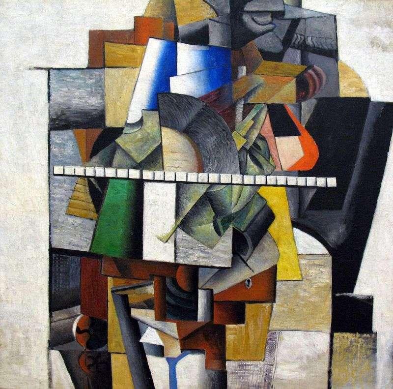 Portret artysty M. V. Matyushin   Kazimierz Malewicz