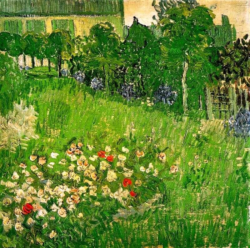 Ogród Daubigny w Auvers   Vincent Van Gogh