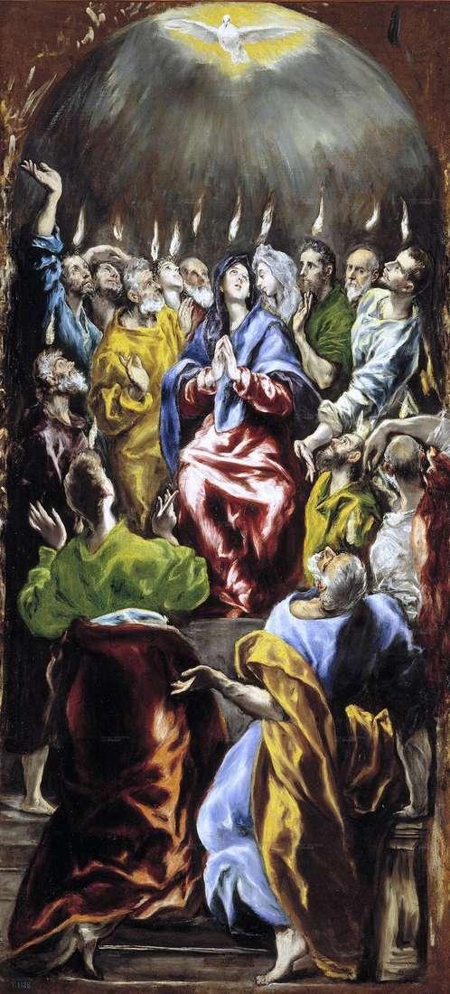Zstąpienie Ducha Świętego   El Greco