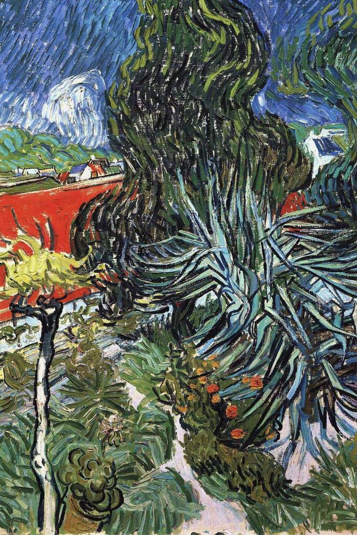 Ogród dr. Gachet w Auvers   Vincent Van Gogh