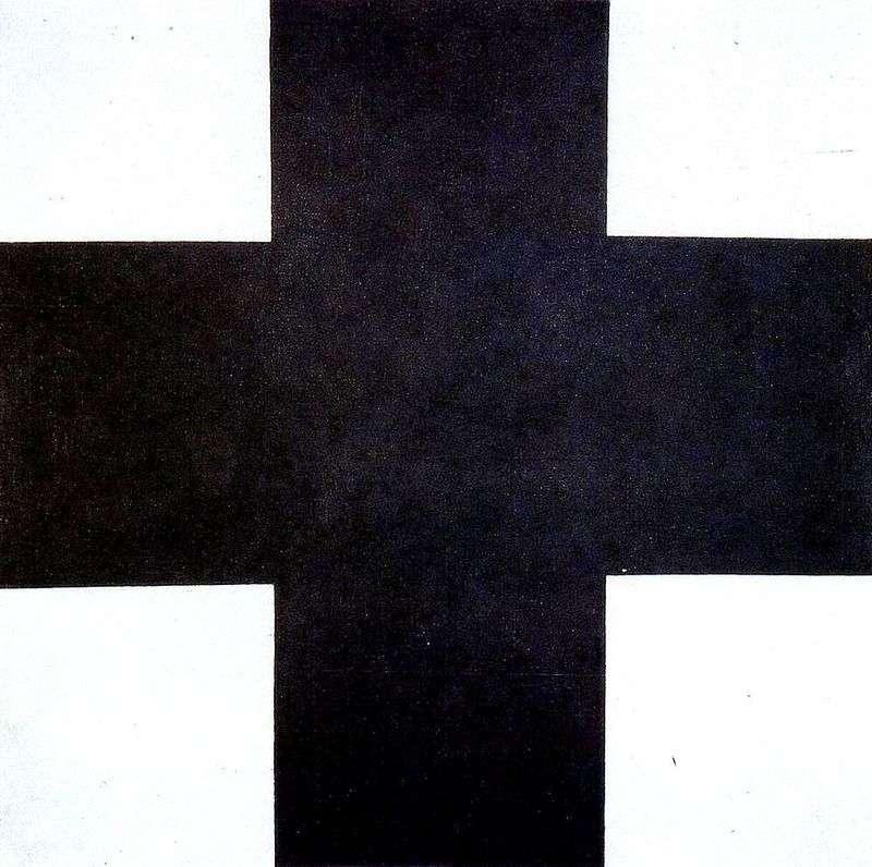 Czarny Krzyż   Kazimierz Malewicz