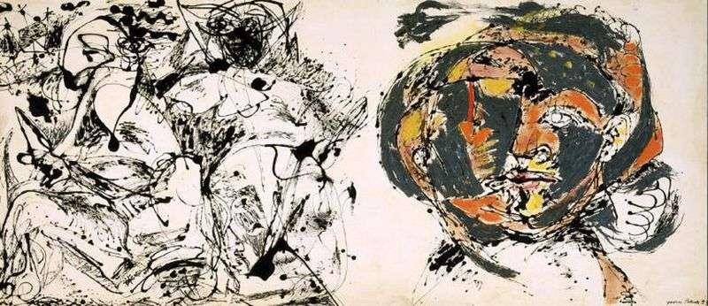 Portret i sen   Jackson Pollock