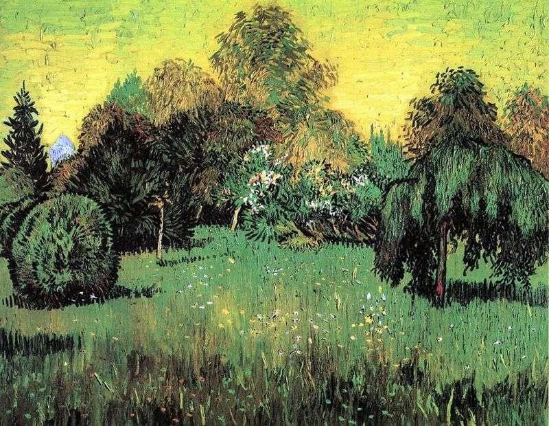 Ogród Poety (Ogród Poetów)   Vincent Van Gogh