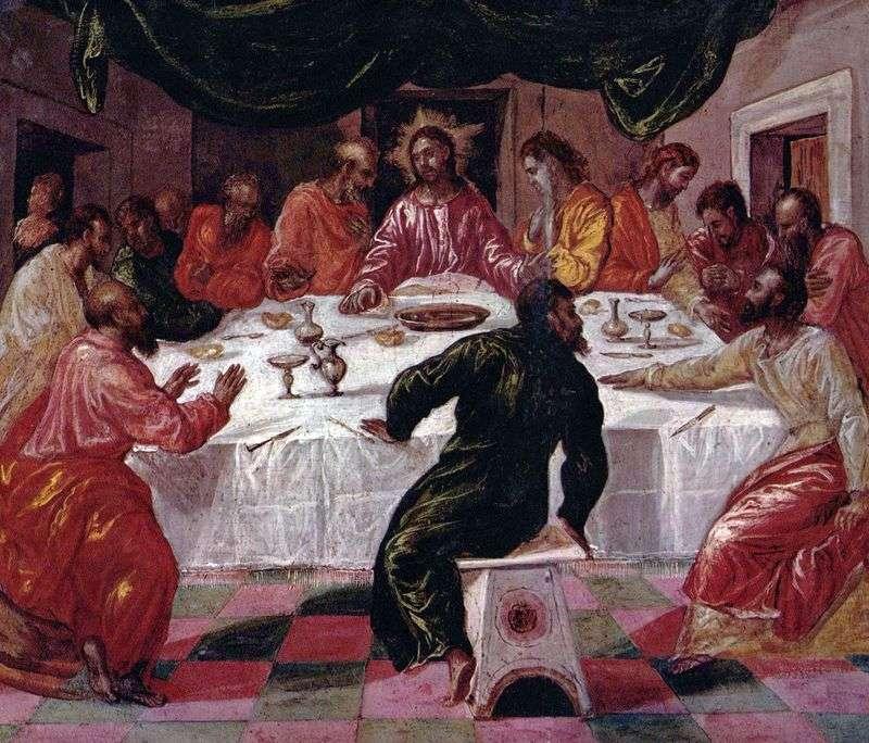 Ostatnia Wieczerza   El Greco