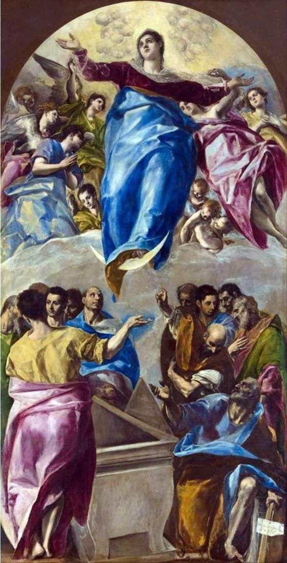 Wniebowzięcie Marii   El Greco