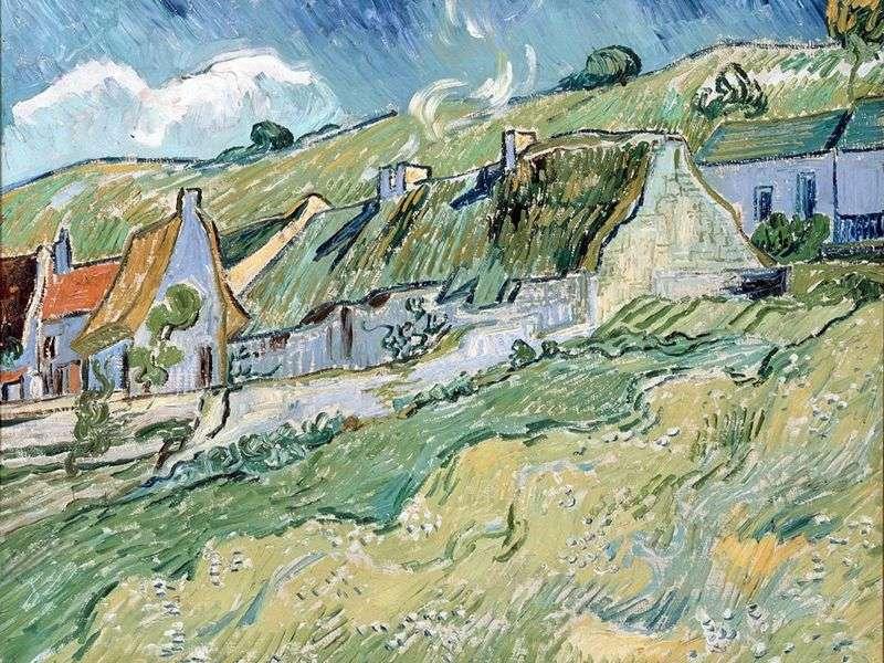 Domy wiejskie   Vincent Van Gogh