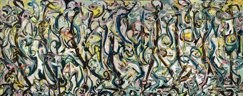Mural   Jackson Pollock