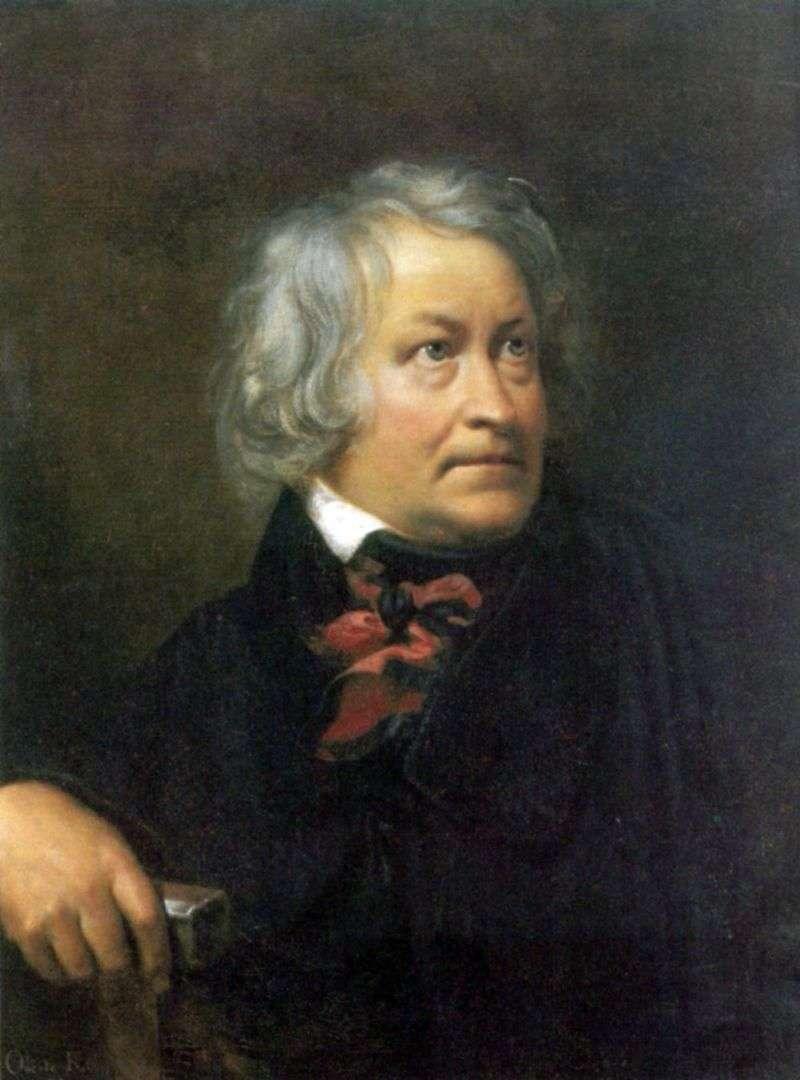 Portret rzeźbiarza Thorvaldsena   Orest Kiprensky